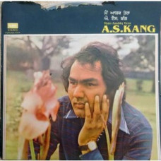 A S Kang Main Aashiq Tera ECSD 3053 Punjabi LP Vinyl Record