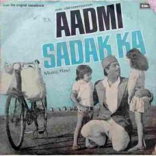 Aadmi Sadak Ka 7EPE 7394 Bollywood EP Vinyl Record