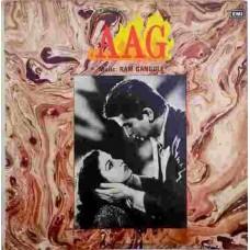 Aag ECLP 5933 Bollywood Movie LP Vinyl Record
