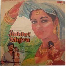 Aakhri Mujra 2392 287 Bollywood LP Vinyl Record