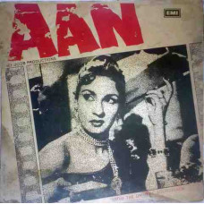 Aan LKDA 350 Bollywood Movie LP Vinyl Record