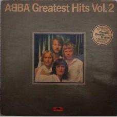 Abba Greatest Hits Vol.2  2344 145 English LP Vinyl Record
