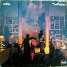 Abba The Visitors 2311 122 English LP Vinyl Record