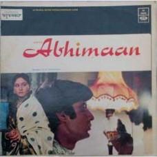 Abhimaan D/MOCE 4183 Bollywood LP Vinyl Record