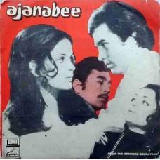 Ajanabee 7EPE 7074 Bollywood EP Vinyl Record