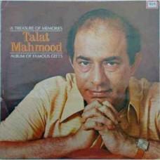 Talat Mahmood Album Of Famous Geets ECLP 2878 LP Vinyl Record