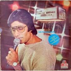 Amitabh Bachchan With Kalyanji Anandji - Live Tonite 2LP Set - 2675 510
