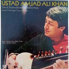 Amjad Ali Khan - Live At Shanmukhanand Hall ECSD 2978 Indian Classical LP Vinyl Record