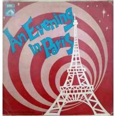 An Evening In Paris EALP 4045 Bollywood LP Vinyl Record