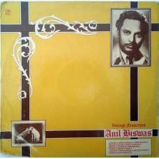 Anil Biswas Vintage Favourite PMLP 1111 Film Hits LP Vinyl Record