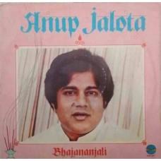 Anup Jalota Bhajananjali 2392 561 Bhajan LP Vinyl Record