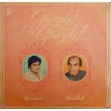 Anwar & Khalid Ghazals S/45NLP 102 Ghazal LP Vinyl Record