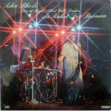 Asha Bhosle With Rahul Dev Burman Live At Royal Albert Hall London PEASD 2019/2020 Film Hits LP Vinyl Record