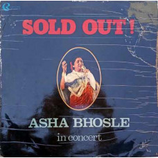 Asha Bhosle In Concert Sold Out 01 0002 Film Hits LP Vinyl Record