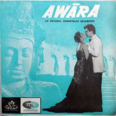 Awara TAE 1328 Movie EP Vinyl Record