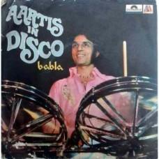 Babla Aartis In Disco 2220 225 Bollywood EP Vinyl Record