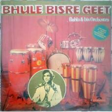 Babla & His Orchestra Bhule Bisere Geet 2392 179 Instrumental LP Record