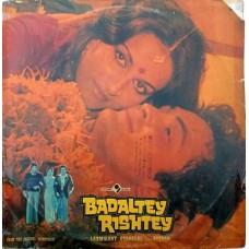 Badaltey Rishtey ECLP 5598 Bollywood LP Vinyl Record
