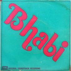 Bhabhi  EMOEC 6260 (H) Movie EP Vinyl Record