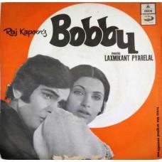 Bobby EMOE 2346 Bollywood EP Vinyl Record