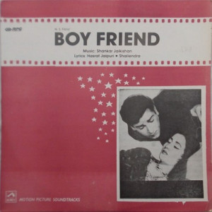 Boy Friend  HFLP 3572  Bollywood Movie LP Vinyl Re