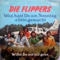 Die Flippers – Was Hast Du Am Sonntag Allein Gemacht BL 11277 Album EP Vinyl Record