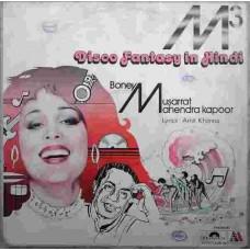 M3 Disco Fantasy In Hindi Boney M Musarrat Mahendra Kapoor 2392 957 Pop Songs LP Vinyl Record