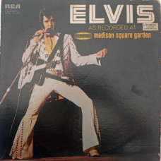 Elvis As Recorded At Madison Square Garden LSP - 4776