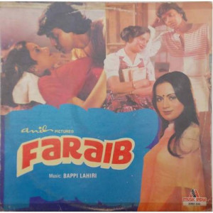 Faraib 2392 332 Bollywood Movie LP Vinyl Record