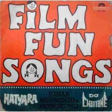 Film Fun Songs 2221 352 Bollywood EP Vinyl Record