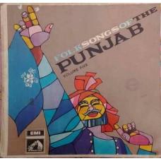 Folk Songs Of Punjab Vol 5 ECLP 2401 Punjabi LP Vinyl Record
