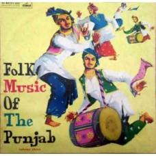 Folk Music Of The Punjab Vol - 3 ECLP 2289 Punajbi LP Vinyl Record
