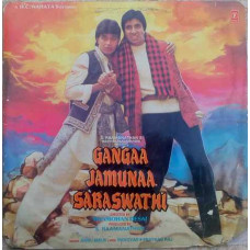 Gangaa Jamunaa Saraswathi  SHFLP 1/1319 Bollywood Movie LP Vinyl Record