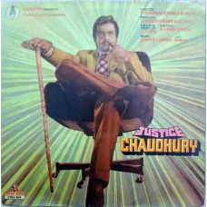 Justice Chaudhury 2392 409 Bollywood Movie LP Vinyl Record