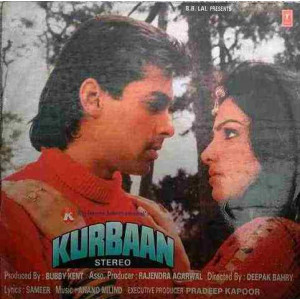 Kurbaan SHFLP 11394 Bollywood LP Vinyl Record