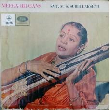 Meera Bhajans Smt : M.S.Subbulakshmi MOAE 133 - lp vinyl record