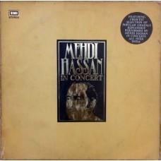 Mehdi Hassan In Concert ECSD 14612/13 Ghazal LP Vinyl Record