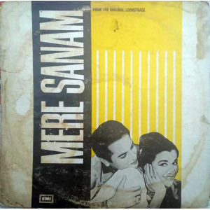 Mere Sanam EALP 4048 Bollywood Movie LP Vinyl Reco