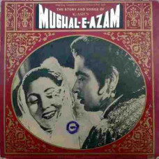 Mughal E Azam The Story And Songs with Dialogues 3LP Set PEMGE2003/4/5 Bollywood LP Vinyl Record