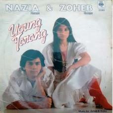 Nazia Hassan & Zoheb Hassan Young Tarang IND 1110 Pop Songs LP Vinyl Record