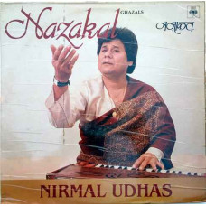 Nirmal Udhas Nazakat Ghazals IND 1117 Ghazal LP Vinyl Record