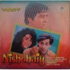 Nishchaiy VFLP 1134 Bollywood LP Vinyl Record