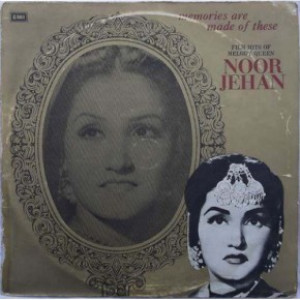 Noor Jehan Flim Hits Of Melody Queen ECLP 5595 LP