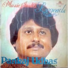 Pankaj Udhas Music India Legends Ghazals 2675 534 Ghazals LP Vinyl Records