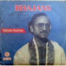 Bhajans Rajinder Kachroo GM-0001 LP Vinyl Record