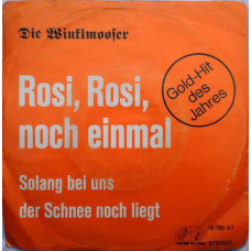 Die Winklmooser – Rosi, Rosi, Noch Einmal  Solang Bei Uns Der Schnee Noch Liegt 16760 AT Album EP Vinyl Record