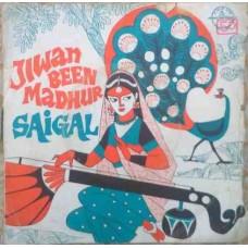 Jiwan Been Madhur Saigal L.H. 12 EP Vinyl Record