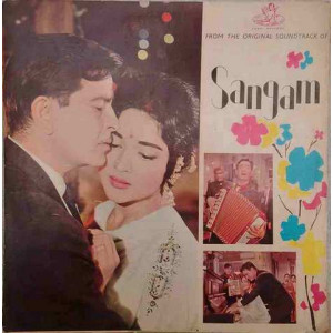 Sangam 3AEX 5036 Bollywood LP Vinyl Record