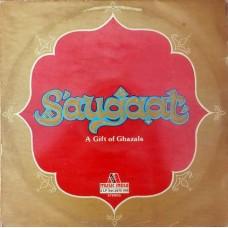 A Gift Of Ghazals Saugaat 2675 506 Ghazal LP Vinyl Record