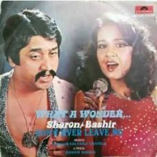 Sharon Bashir What A Wonder 2392 952 Pop Songs LP Vinyl Record